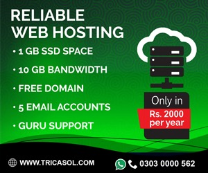 Webhosting in Pakistan